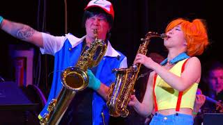 #Pokemon Theme Saxy Style - The 8-Bit Big Band featuring Grace Kelly and Leo P