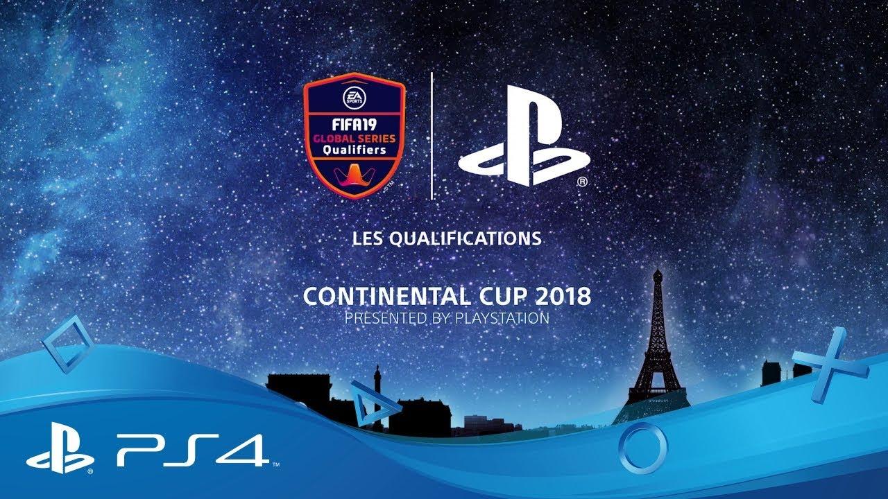 PlayStation présente la Coupe Continentale à la Paris Games Week pour les EA SPORTS FIFA 19 Global Series