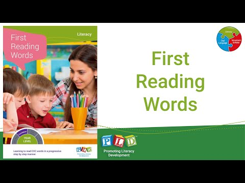 First Reading Words