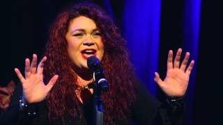 Chelsea Lee sings 'Never Neverland (Fly Away)' at the Hippodrome on September 9th, 2015