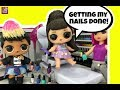 LOL Ariana Grande 's Wedding Day Part 2 Morning Routine & Gets Nails Done  GG LOL Custom