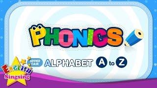 Phonics Alphabet - Letter A đến Z - Upper Trường hợp | Học tiếng Anh cho trẻ em