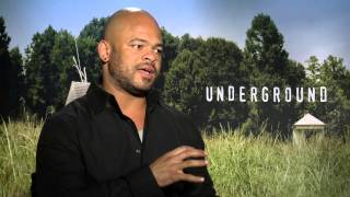 "Interview with ""Underground"" Director Anthony Hemingway"
