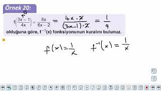 Eğitim Vadisi 10.Sınıf Matematik 11.Föy Fonksiyonlar 2 Konu Anlatım Videoları