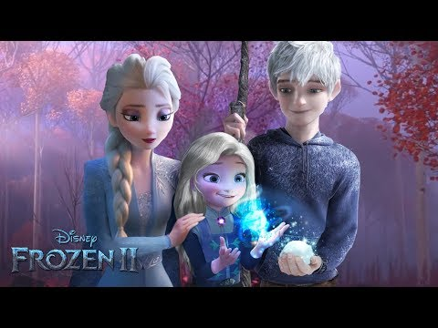 Frozen 2: Elsa and Jack Frost have a daughter! And she has magic too! ❄💙Alice Edit! (видео)