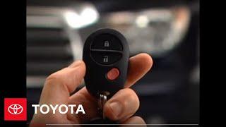 2007 - 2009 Tundra How-To: Remote Keyless Entry   Toyota