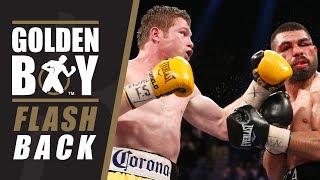 Golden Boy Flashback: Canelo Alvarez vs Alfredo Angulo (FULL FIGHT) #CaneloRocky