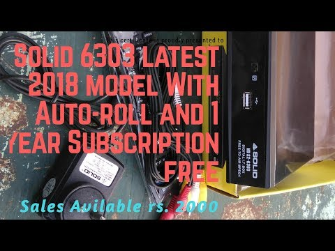 Comparison Of Solid 6303 New VS Old Model Set top box