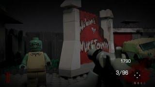 LEGO Black Ops II Zombies: Nuketown (gameplay)