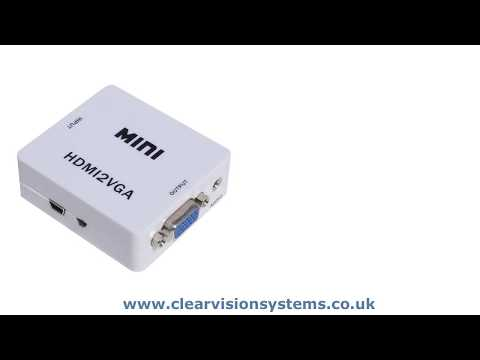 The mini HDMI2VGA Converter