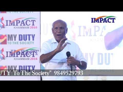 Elimination of inferiority complex|Mohan Rao|TELUGU IMPACT Khammam 2016