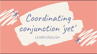 Use  the coordinating conjunction 'yet' to combine sentences