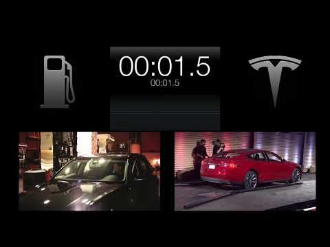 tesla s new battery swap station will give electric. Black Bedroom Furniture Sets. Home Design Ideas