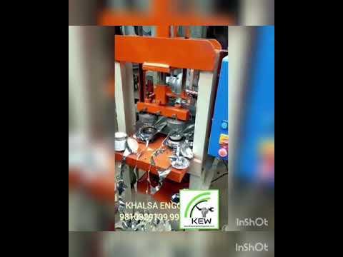 KEW Hydraulic Paper Plate Making Machine