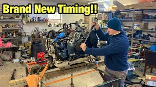 Changing The Timing And Camshaft Sprockets On My Salvage Auction Stolen 2015 Subaru STI