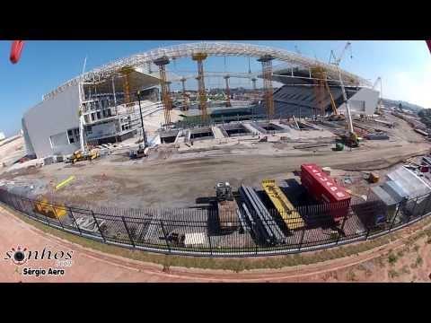 Vôo na Arena do Corinthians
