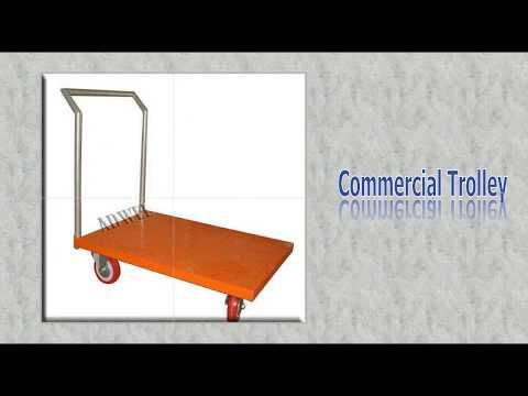 Super Market Basket Trolley