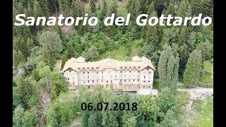 Sanatorio del Gottardo. Санаторий Готтардо. Швейцария. Tessin