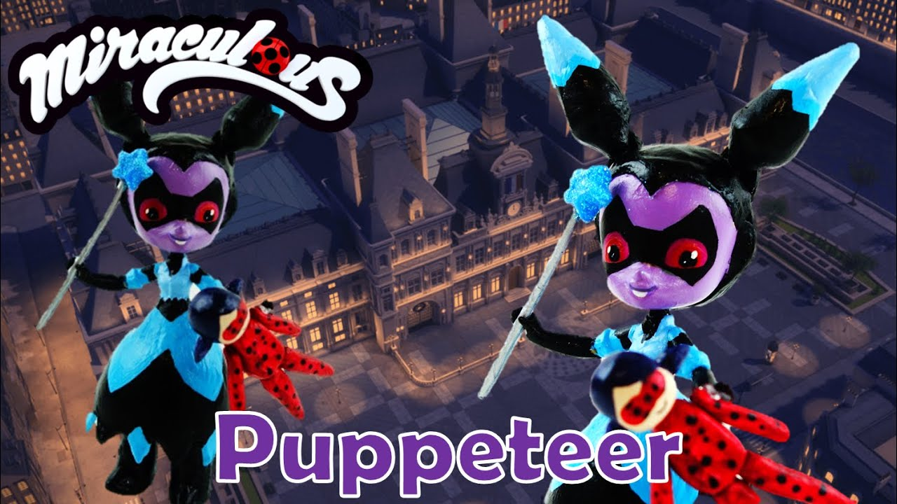 PUPPETEER - Miraculous Ladybug & Cat Noir Villain Custom Doll from My Little Pony EG mini Tutorial