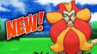 Pyroar  - (Pokémon) - Pokemon X and Y - New pokemon: Pyroar!