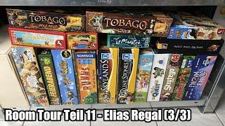 Room Tour Teil 11 - Elias Regal (3/3) - perfekte Familienspiele für Groß und Klein