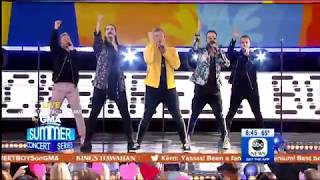 Don't Go Breaking My Heart   Backstreet Boys (Live On GMA)