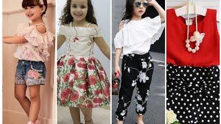 أجمل ملابس اطفال بناتي للعيد 2020/ملابس اطفال كاجوال موضه صيف 2020