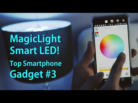 MagicLight Smart LED Review! [Top Smartphone Gadgets #3] Mp3