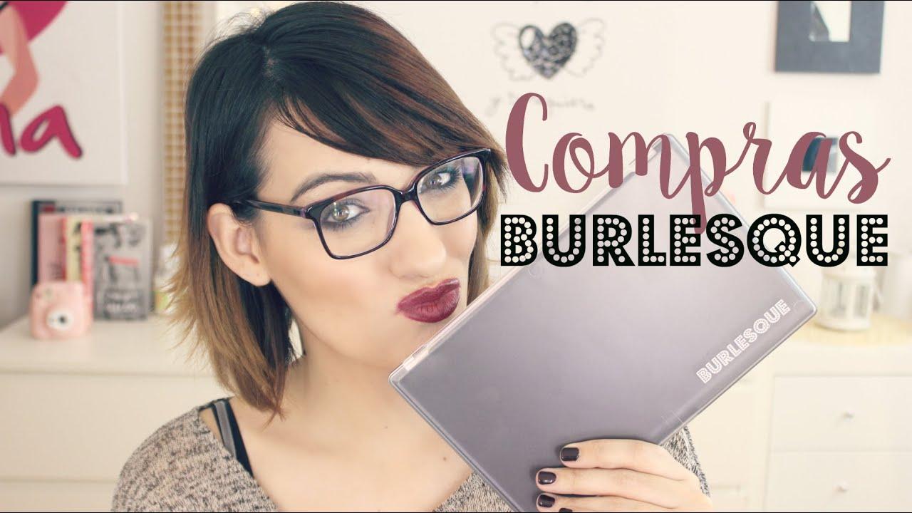Compras en Burlesque: Brochas y pestañas postizas