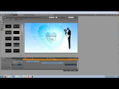 Pinnacle Studio 15 Tutorial- How to Make a Wedding Video Intro (1)
