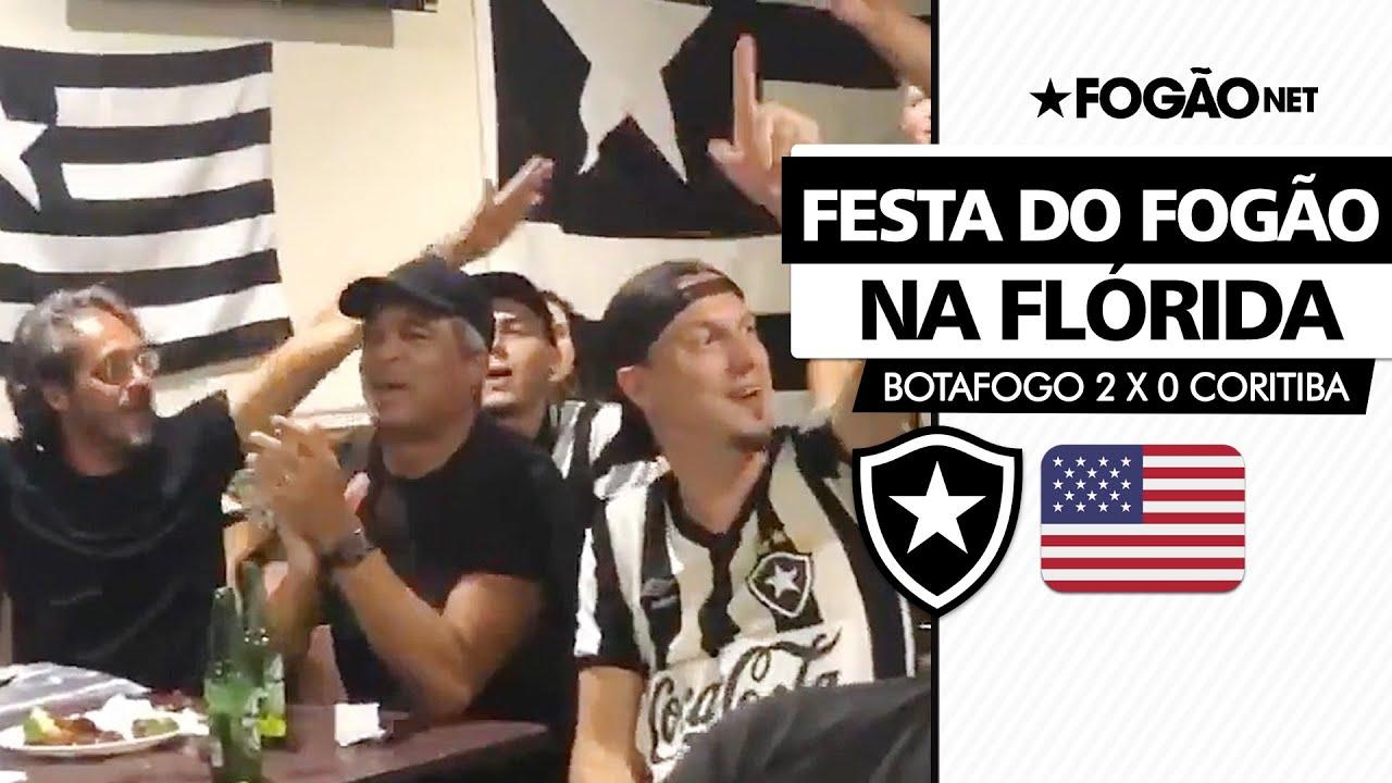 VÍDEO | Ídolos do Botafogo, Gonçalves e Sérgio Manoel comemoram vitória do Botafogo sobre o Coritiba nos EUA
