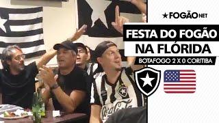 Botafogo 2 x 0 Coritiba | Gonçalves e Sergio Manoel comemoram vitória nos Estados Unidos