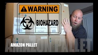 I bought a $1,500 Amazon Customer Returns Pallet / Mystery Box + BIOHAZARD WASTE FOUND!! MUST WATCH