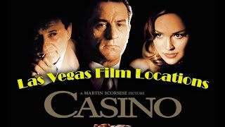 Las Vegas filming locations of the movie CASINO (1995)