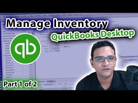 Managing Inventory in QuickBooks Desktop
