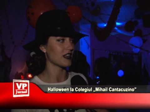 "Halloween la Colegiul ""Mihail Cantacuzino"""