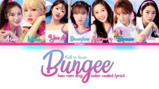 OH MY GIRL(오마이걸)   BUNGEE (Fall In Love) [COLOR CODED HANROMENG LYRICS]