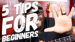 5 Tips for Beginner Bass Guitar Players | How To Start Playing Bass Guitar | w/ Daric Bennett