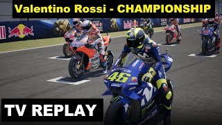 MotoGP 18 | Valentino Rossi | Championship | 4# SpanishGP | TV REPLAY PC