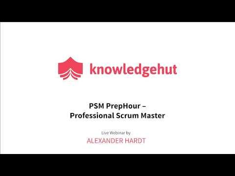 PSM PrepHour   Professional Scrum Master   Knowledgehut ...