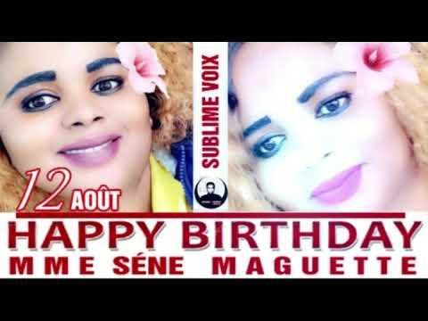 MOUSSA SALL ACTEUR : HAPPY BIRTHDAY MME SENE MAGUETTE