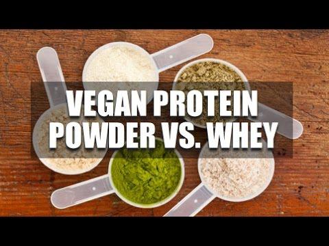 Video Vegan Protein Powder Vs. Whey Protein?