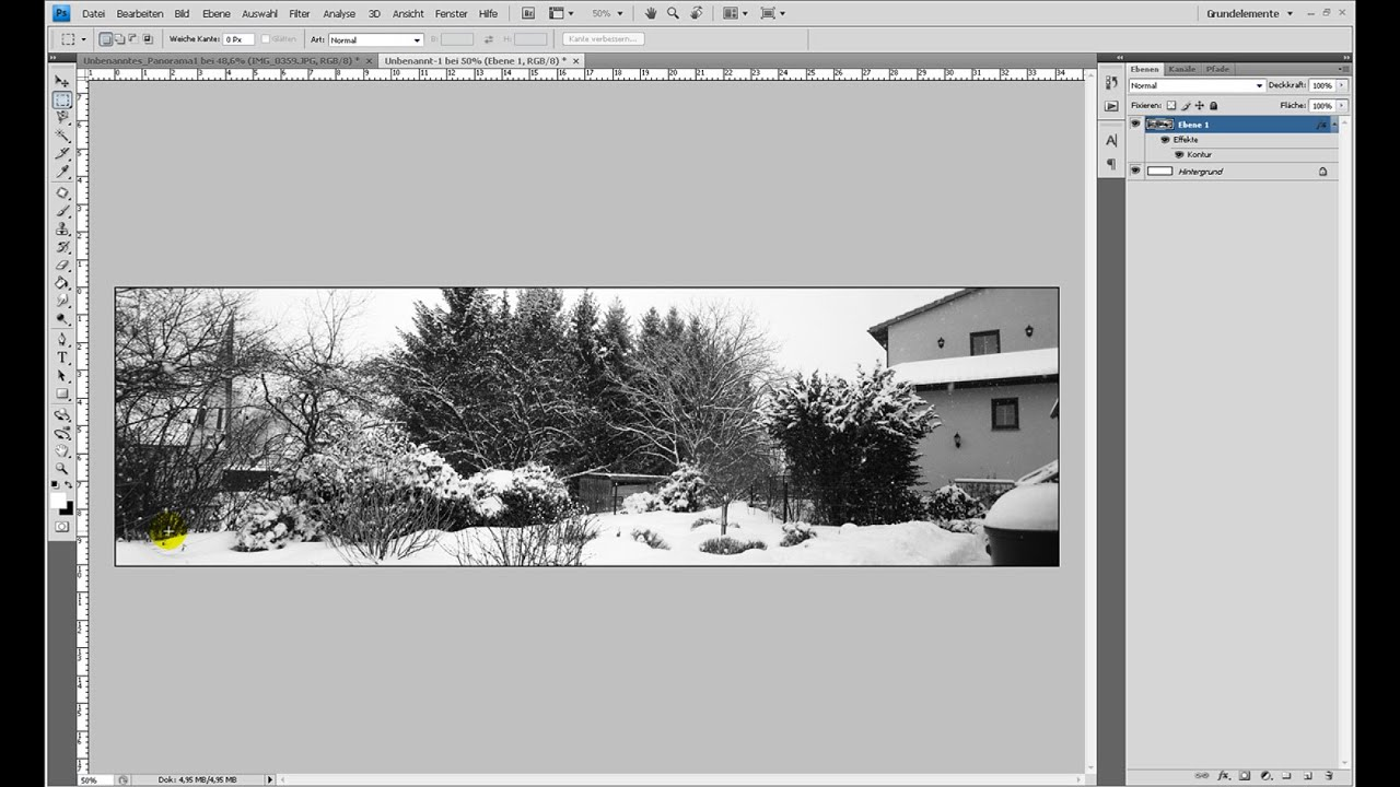 Panorama mit Photomerge erstellen – Photoshop-Tutorial