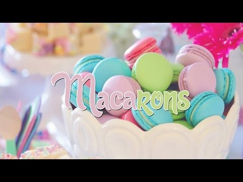 Clean Baking | MACARONS mit Füßchen 🍡 So gelingen sie garantiert, auch als Anfänger 👍💕