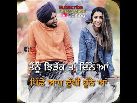 Jazbaat 2 | Amantej hundal | 💓love romantic status | edit by #sharry_mahal_editing