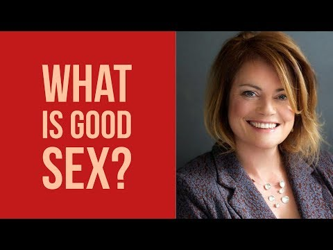 What Is good Sex - Interview With Jacqueline Hellyer