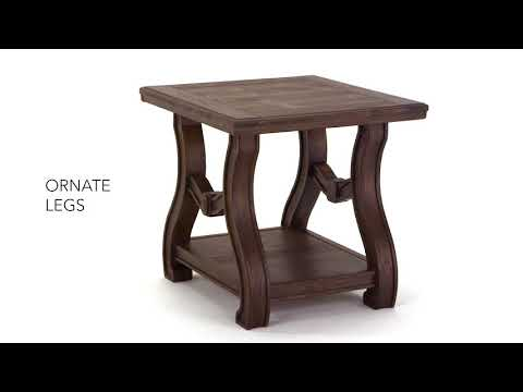 Tanobay T046-2 Square End Table