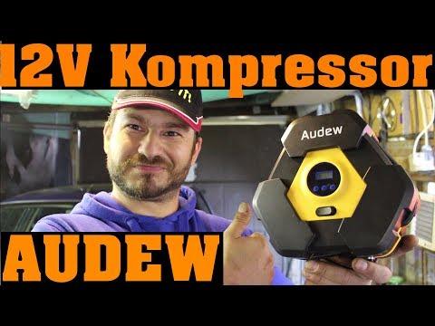 Audew 12V Luftkompressor - wir TESTEN alles!