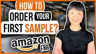 How To Buy Amazon FBA Product Sample From Alibaba Suppliers | 3 Steps 👈