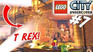 STJÆLER EN T REX! - LEGO City Undercover Dansk Ep 7 [PS4 Pro]